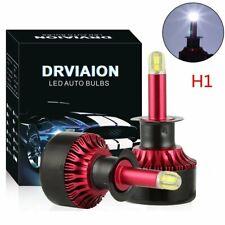 2x H1 8Sides CSP Chip Car LED Conversion Headlight Bulb Kit 6500K 200W 32000LM