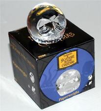 "JACK SKELLINGTON Tim Burton Nightmare Before Christmas GLASS PAPERWEIGHT 2"" New"