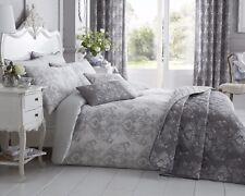 Grey Toile Double Duvet Set