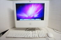 "🍀 ‡ Apple 17"" iMac 1.83GHz Core 2 Duo 1GB 160GB HD AIO w Keyboard Mouse A1195"