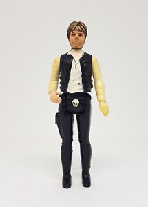 Star Wars Vintage HAN SOLO Figure 'Big Head' Damaged Nose 1977 Kenner First 12