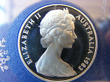 1983 20 cent proof coin from set. Only 80,000 made! Brilliant coin in 2x2 holder