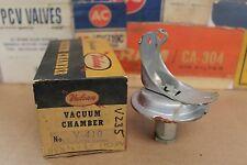 Vintage NOS Vulcan Distributor Vacuum Advance Chamber V-410 1952-54 Henry J 6 Cy