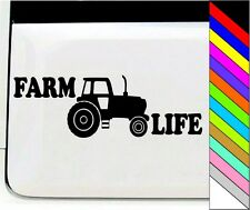 Farm Truck Life Farmer Life Cool Decal Sticker for Car Window Laptop Motorcycle
