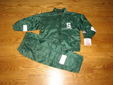 NEW Michigan State Spartans Windsuit Jacket Pants Size 4T Boys Toddler Track 4 T