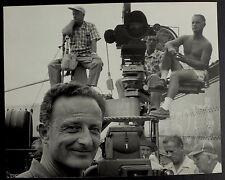 Photo Dennis Stock - Tournage Oklahoma plateau - Alfred Zinnemann - 1955