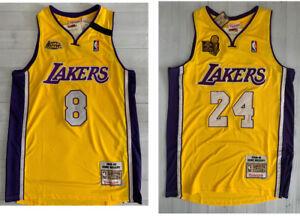 Kobe Bryant Lakers Jersey Championship Finals Champion 1999-00 2009-10