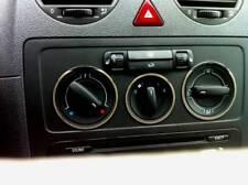 D VW Caddy Chrom Ringe für Gebläseschalter - Edelstahl poliert 3 Ringe