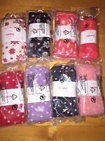 Hanna Andersson Girls' Tights various sizes/colors NWT 80/90/100/110/120/130/140
