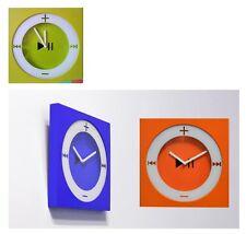Orologio da parete I POD 26X26CM LETTORE MP3 MURO A QUARZO COLORATO