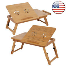 Portable Foldable Laptop Notebook Table Adjustable Stand Bed Tray computer HOT L