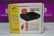 SINTONIZADOR TV TDT EASY HOME NANO DS SCART USB COMO NUEVO