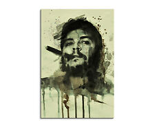 90x60cm PAUL SINUS Splash Art Gemälde Kunstbild Che Guevara