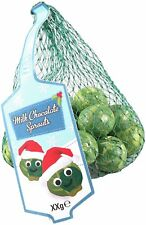 Chocolate brussel sprouts novelty boys girls Christmas stocking filler joke gift