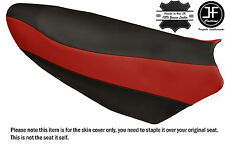 BLACK & DARK RED VINYL CUSTOM FITS YAMAHA NYTRO 08-14 FX MTX XEX SE SEAT COVER