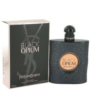 BLACK OPIUM YSL by Yves Saint Laurent EDP PERFUME WOMEN 3 oz 3.0 NEW SEALED BOX