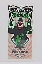 Mother Tongue 2002 M. Arminski Handbill Flyer