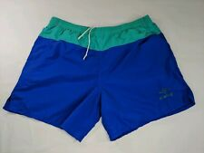 Vintage Umbro Nylon Soccer Gym Shorts Mens XL Color Block 80s 90s  Made in USA