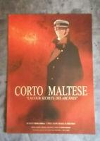 AFFICHE cinema CORTO MALTESE 2002 la cour secréte des arcanes- HUGO PRATT-40X60