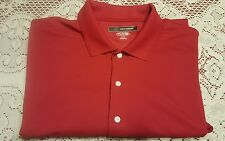 Greg Norman Red Golf Shirt, Size XL, Very Good Condition