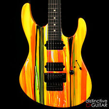 BRAND NEW SUHR MODERN 80S SHRED ELECTRIC GUITAR WITH CUSTOM NEON DRIP FINISH