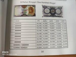 Percuma Pos Daftar: Katalog Matawang Duit Syiling Wang Kertas Malaysia 1967-2015