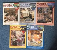 Model Railroader Magazine (Set of 8 issues 1992 and 1993) Toy Trains Hobby