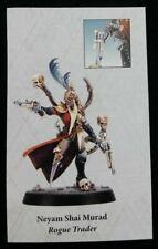 Rogue Trader Neyam Shai Murad Blackstone Fortress Escalation Warhammer 40K