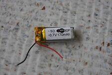 Oakley Thump / O Rokr Battery labeled at 170mAh