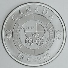 2013 Royal Baby, Infant Carriage, 25-Cent Specimen Coin in Commemorative Folder
