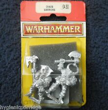 1994 caos Guerrero B1 Games Workshop Citadel Warhammer army mal Fighter MIB GW
