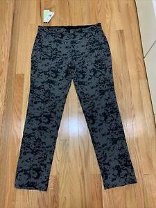 Adidas Golf Primegreen Ultimate 365 Camo Pants Black Gray Mens Sz 34x32 NWT $90