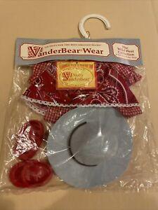 VanderBear Wear~Muffy Collection~ The Littlest Cowpoke~ New in Pkg