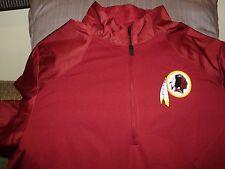 ae8070cd NFL Washington Redskins Nike Dri-fit Warm 1/2 Zip Golf Hybrid Jacket Men's