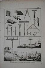 Originaldrucke (bis 1800) aus Europa mit Arbeitswelt & Technik für Kupferstich
