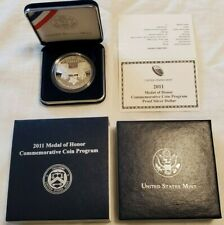 2011 Medal of Honor Commemorative Coin Proof Silver Dollar