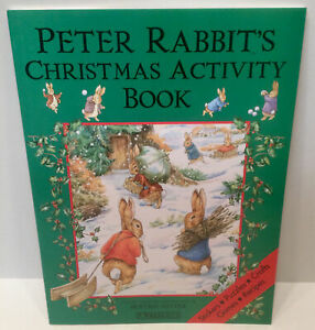 Peter Rabbits Christmas Activity Book Beatrix Potter New Stickers Crafts Games