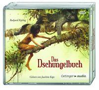 RUDYARD KIPLING - DAS DSCHUNGELBUCH 4 CD NEU
