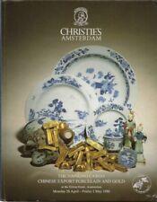 CHRISTIE'S NANKING CARGO Chinese Export Porcelain Shipwreck Gold Catalog 1986 HC