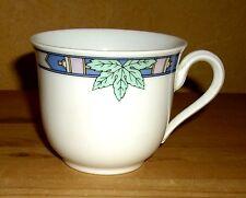 Schirnding  1 Kaffeetasse  weiß,  mehrfarbiges  Dekor