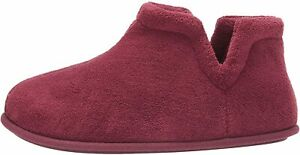 Daniel Green Women's Evalyn Slipper, Burgundy, Size 9.5 eezu