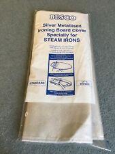 "Besco silver metallised ironing board cover standard 40"" x17"""
