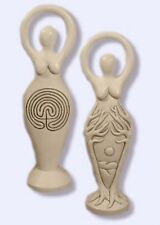 Two-Sided Labyrinth Goddess Statue