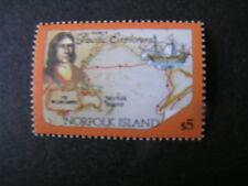 NORFOLK ISLAND, SCOTT # 437a-439a(3) SOUVENIR SHEET SYDNEY-NORFOLK LINKS MNH