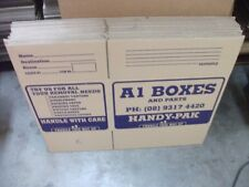 Packing Boxes Perth - 5 New Medium Boxes 340mm (h) x 515mm x 350mm - 64 litre