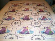 Southern Belles Embroidered Quilt Full Size
