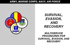 Army, Navy, Marines Survival - 55 Manuals on 1 CD