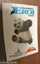 Adesivo sticker dreamworks esselunga figurine figurina eroi kung fu panda kungfu