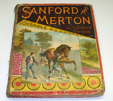 Sanford Merton IN WORDS OF ONE SYLLABLE Godolphin c1868