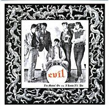 """EVIL I'm Movin' On vinyl 7"""" NEW unreleased savage '66 garage punkers!"""